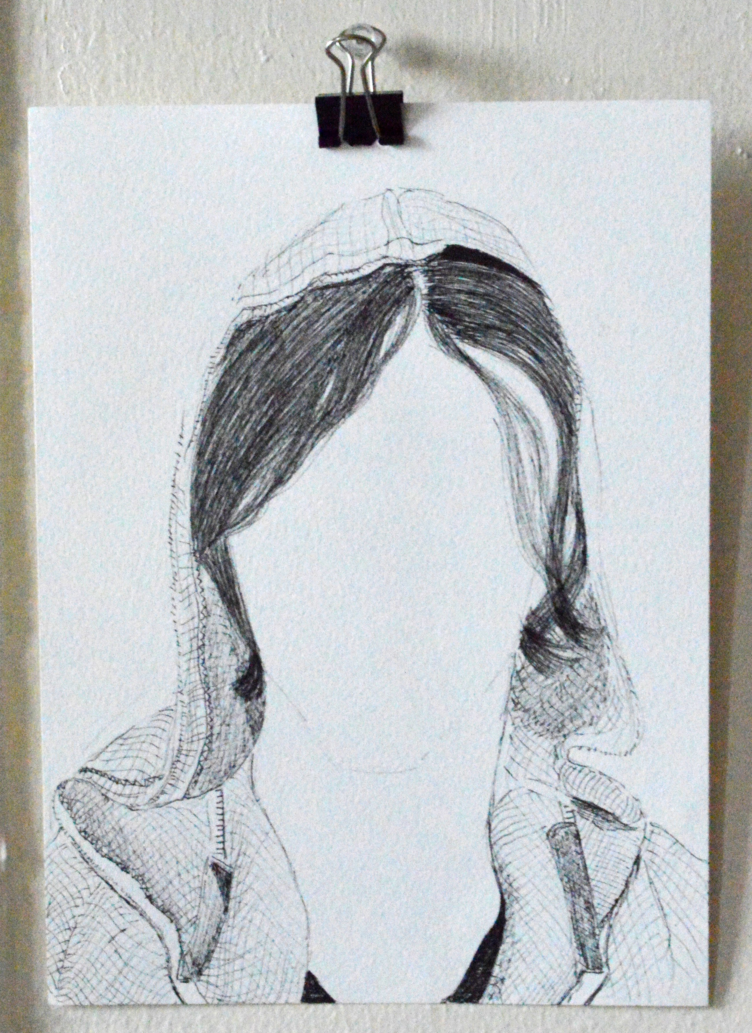 Hanging in the Va, Girls without Faces by Keke Brown