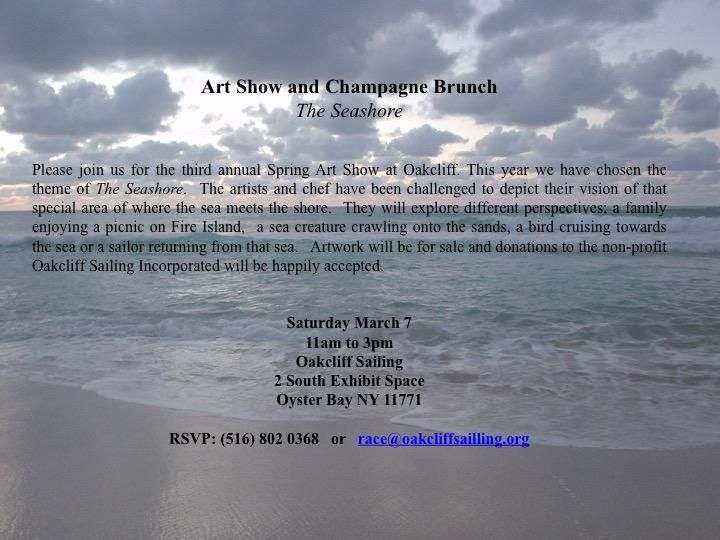 Oakcliff Sailing Seashore Art Show