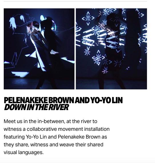 down in the river Pelenakeke Brown, Yo-Yo Lin