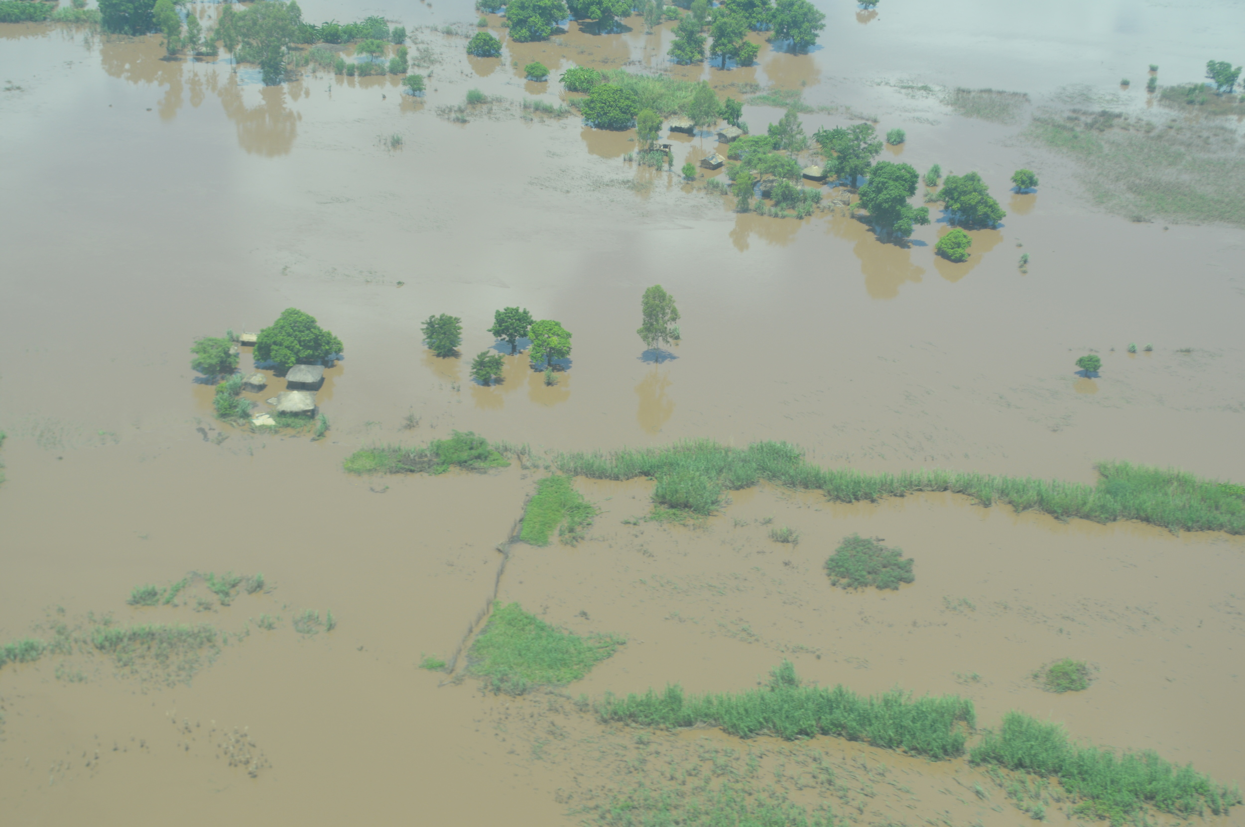 A third of Malawi's territory has been affected by heavy rains and floods.
