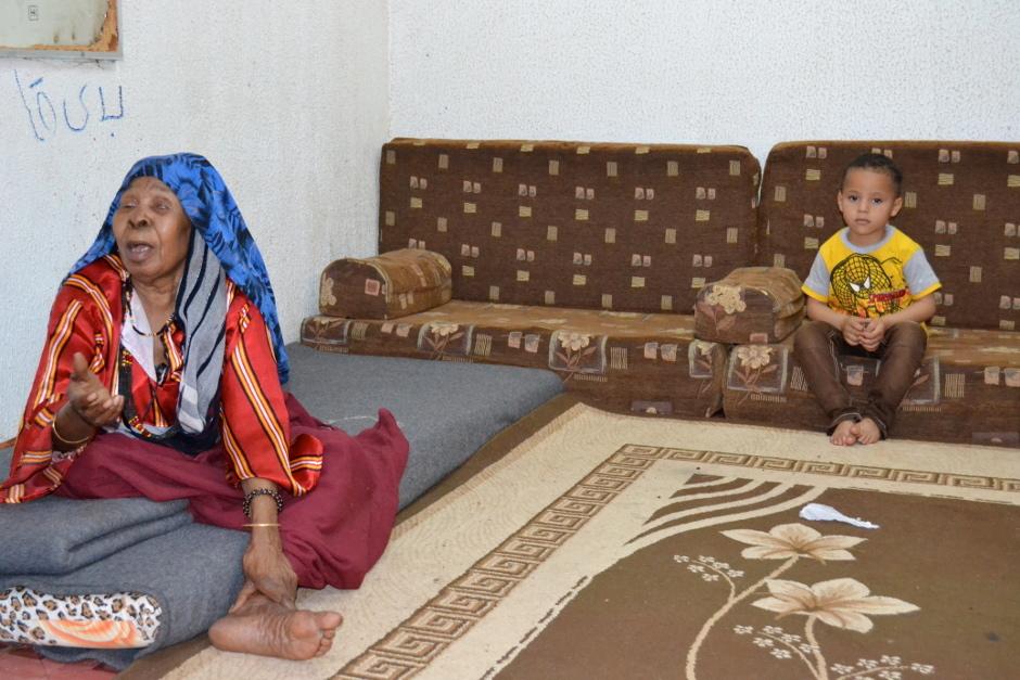 Khadija Mabruk has little hope for her grandson's future