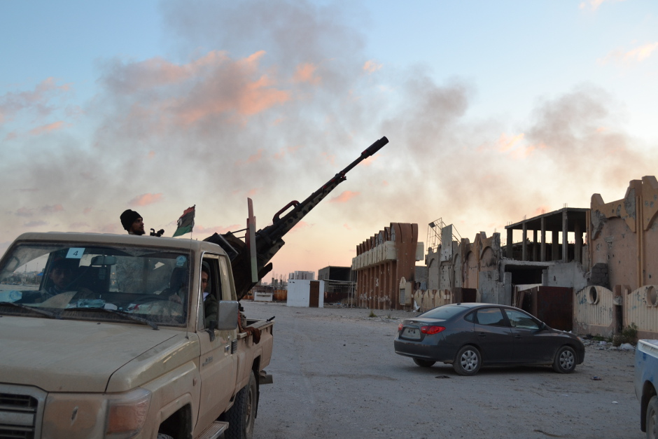 Haftar's forces control around 80 percent of Benghazi