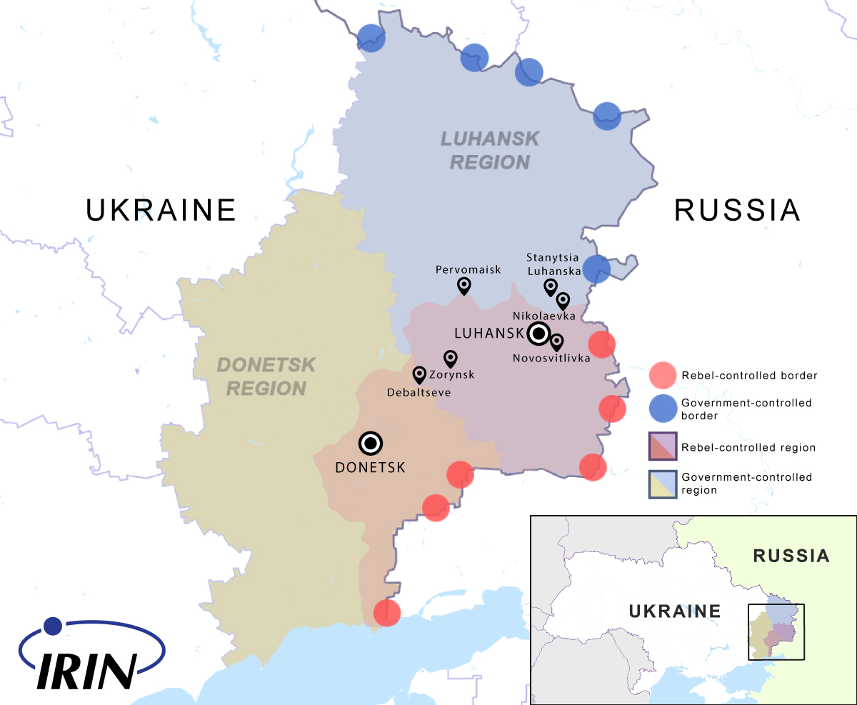 Pro-Russian separatist rebels have carved out their own self-proclaimed republics in eastern Ukraine