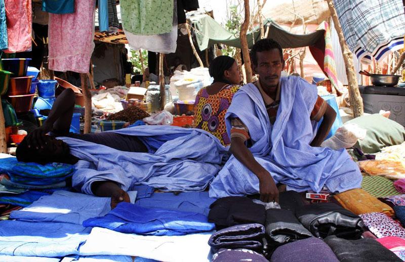 Baba Ahmed au marché de M'berra