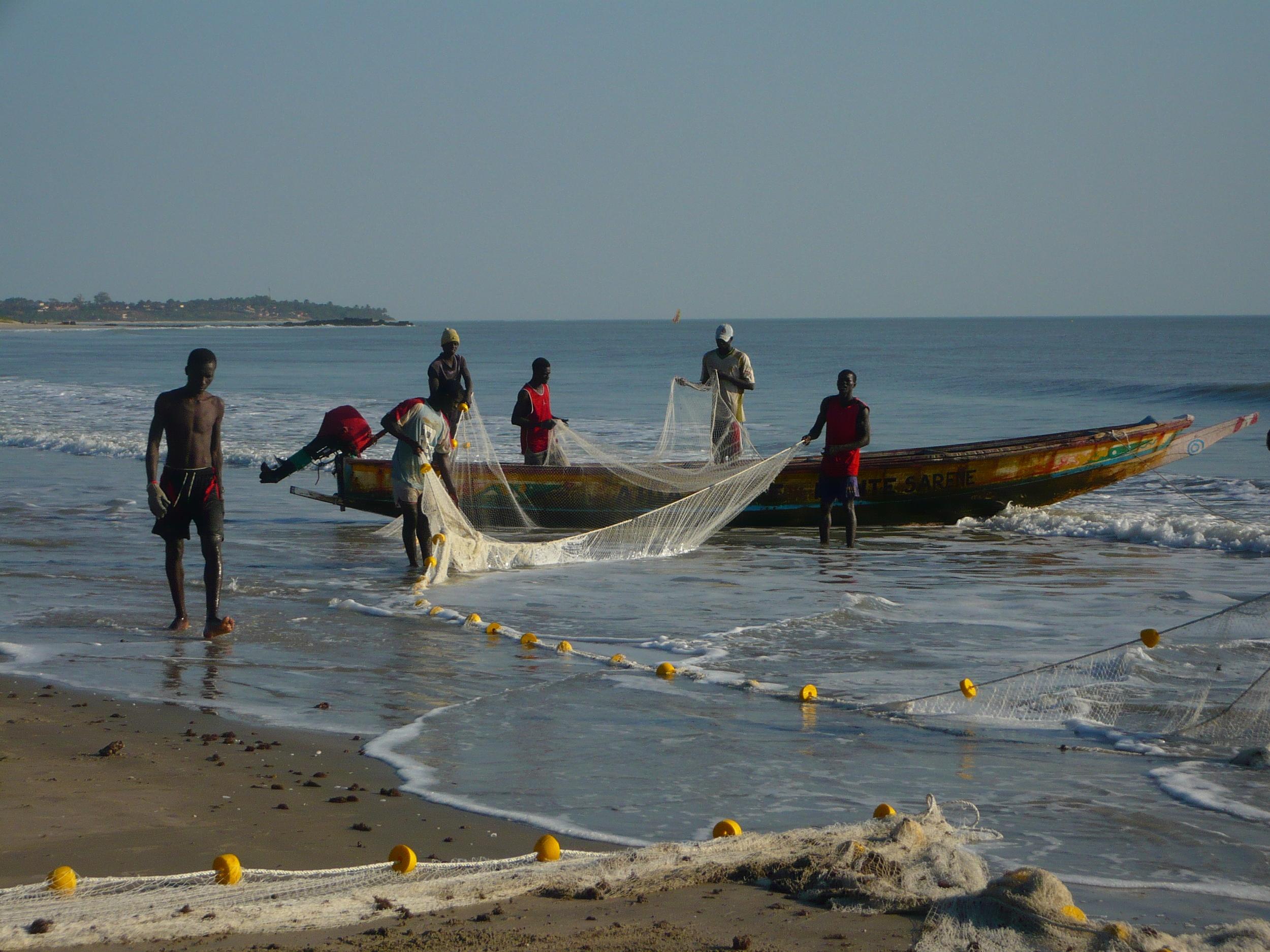 Des pêcheurs dans la région sénégalaise de la Casamance (Eduard Garcia/Flickr)