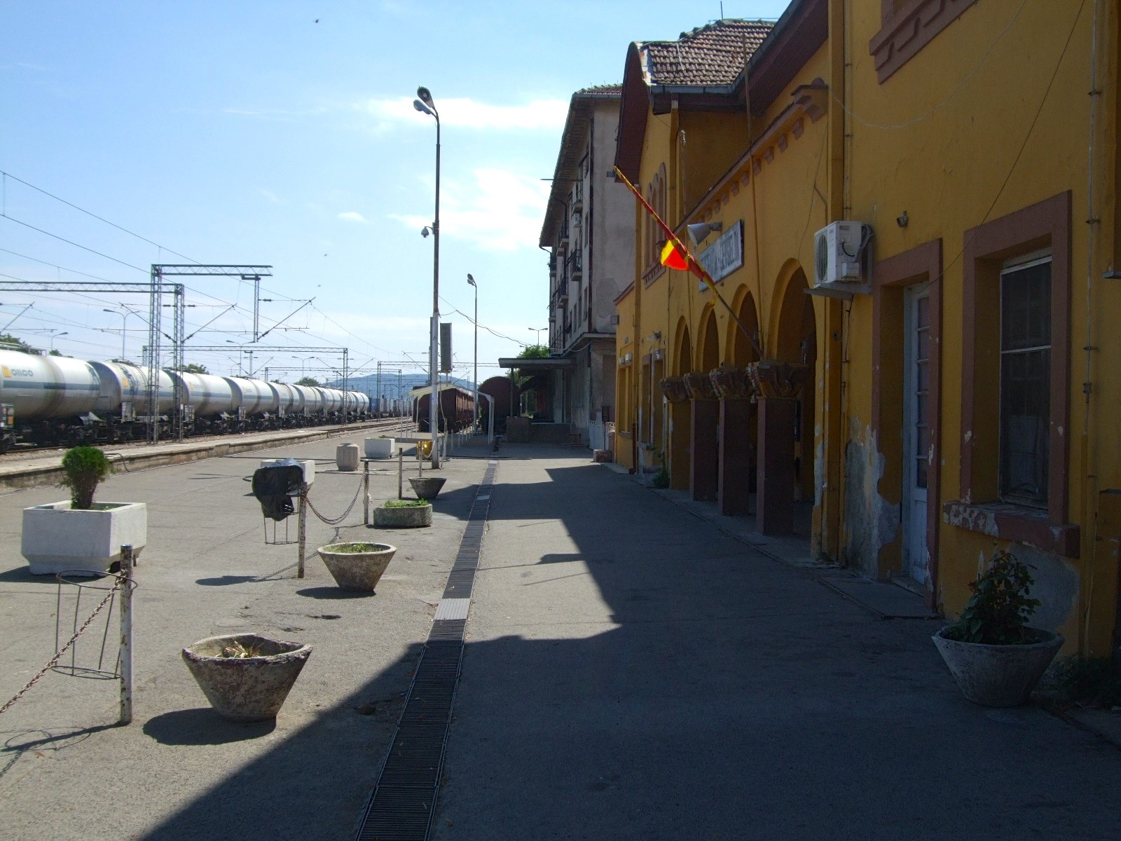 Gevgelija train station is now virtually deserted