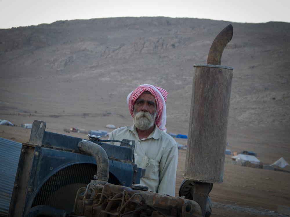 يحصل سليمان عيسو على راتب مقابل حراسة بئر المياه التابعة لحزب العمال الكردستاني.