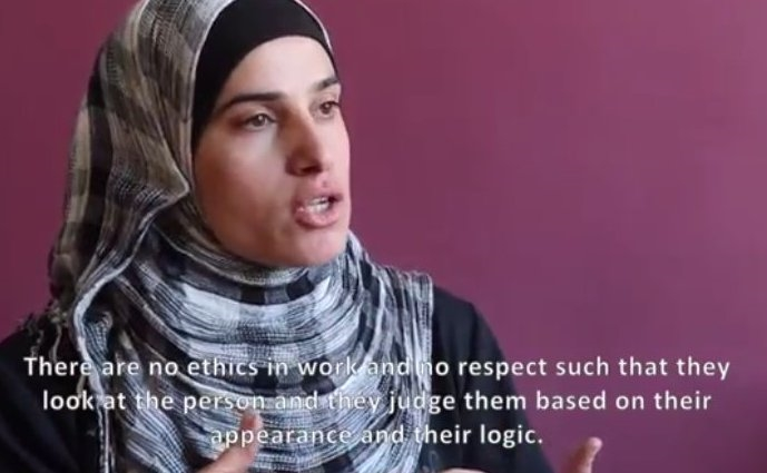 A refugee in Lebanon describes her feelings towards aid agencies (WHS)