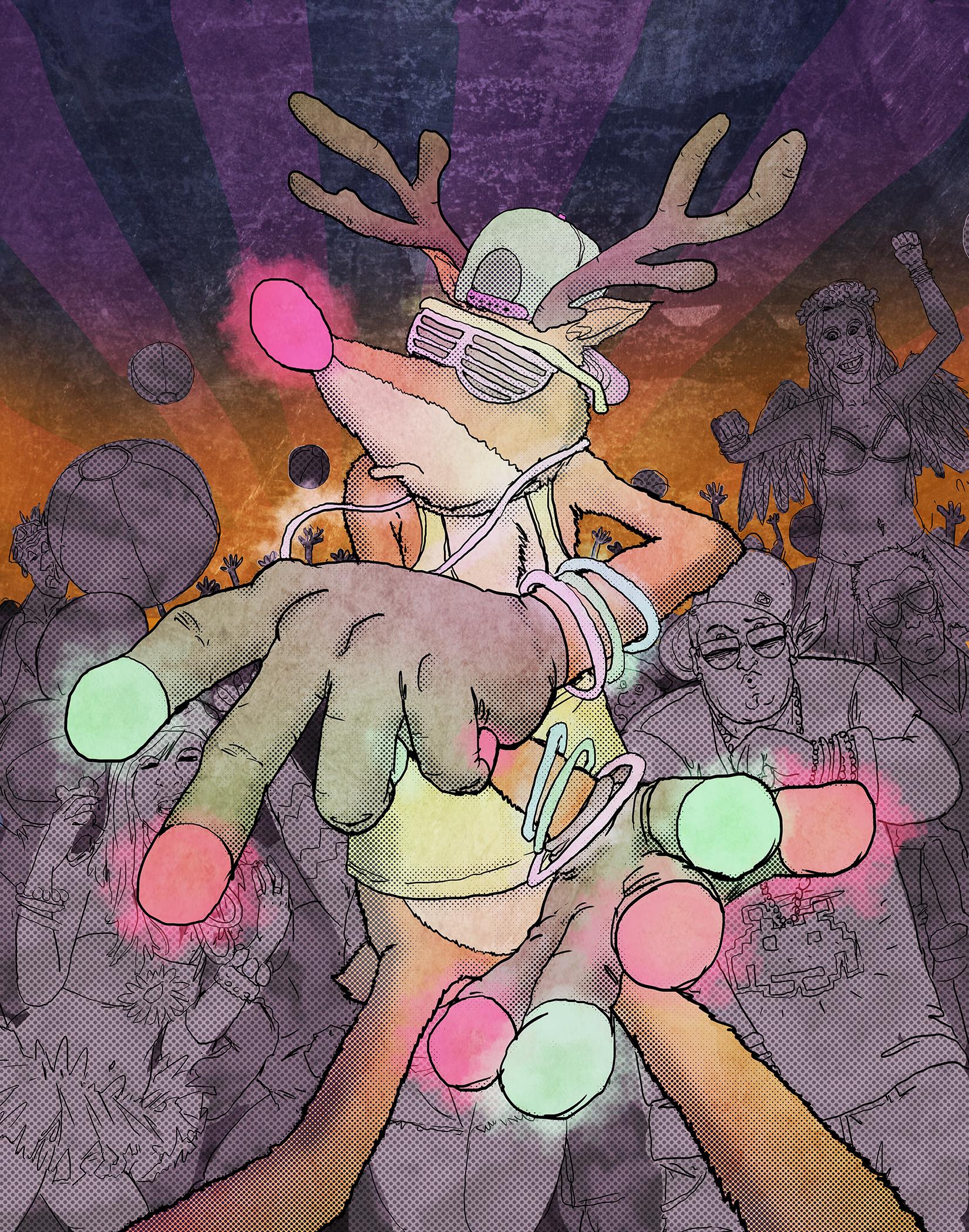 Ravin' Rudolf