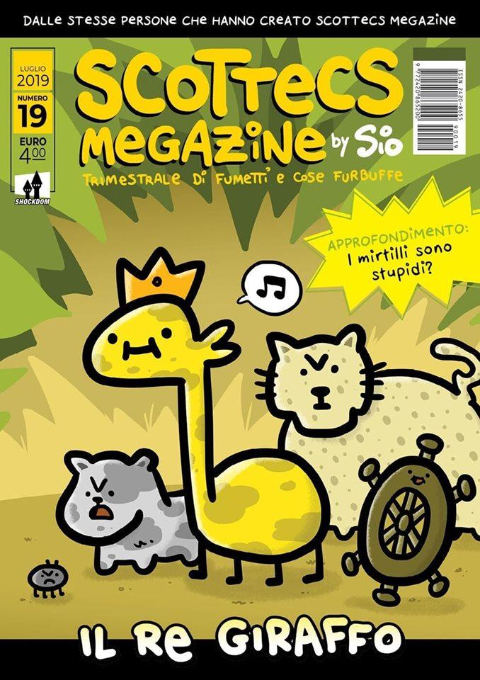 Scottecs Megazine 19 - Il re giraffo