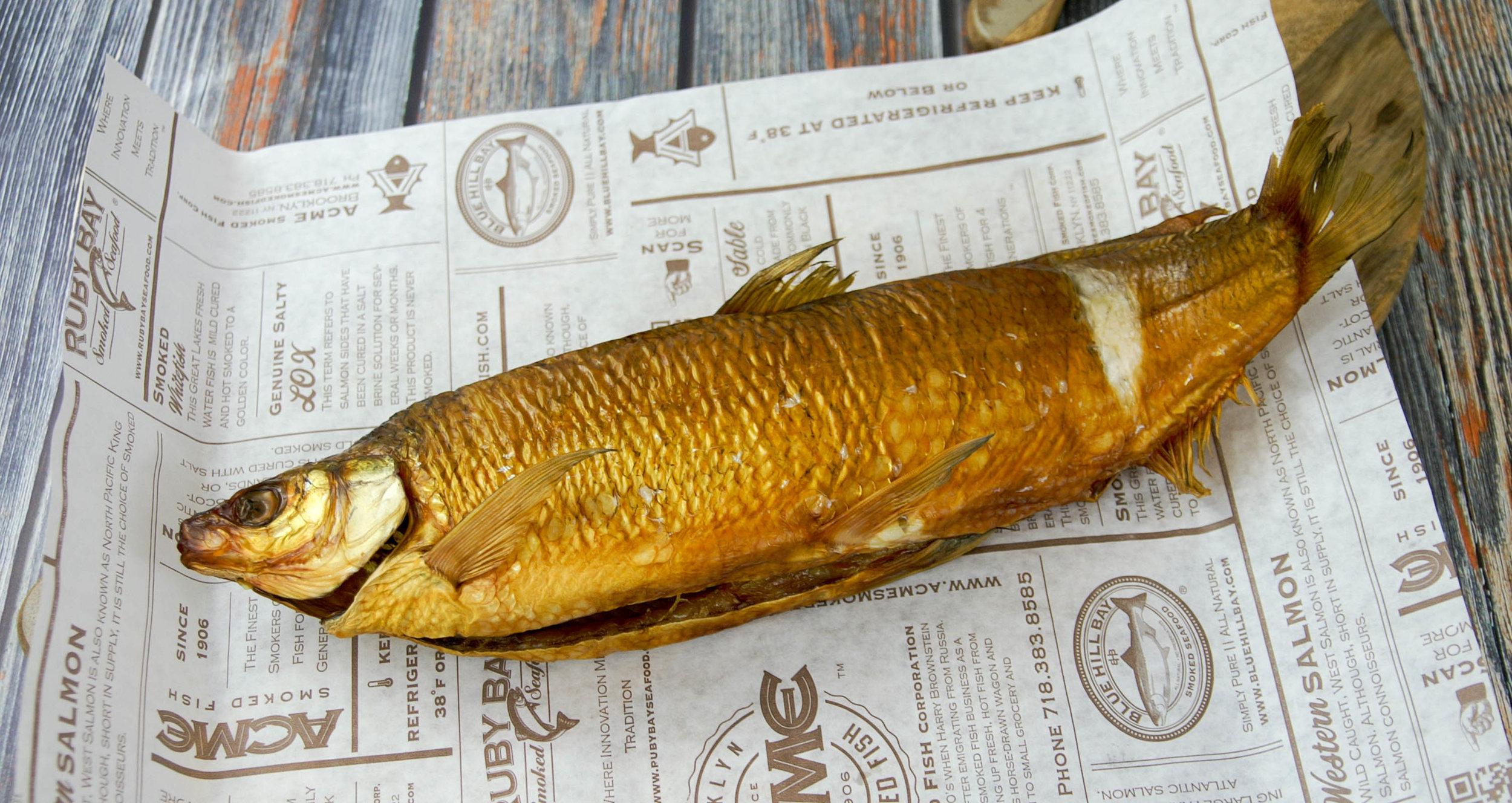 Large Smoked Whitefish