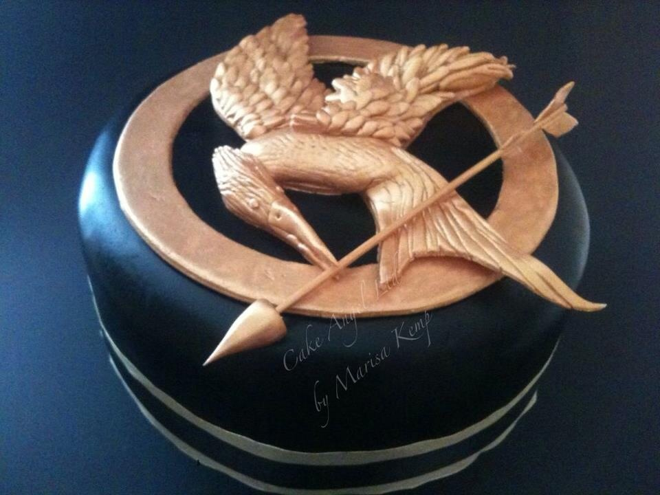 Mockingjay Badge from the Hunger Games Film