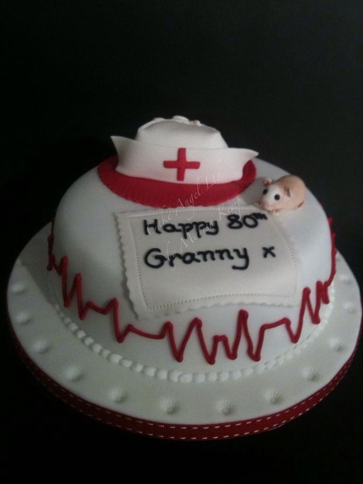 Guinea Pig and Nurse's Hat Cake