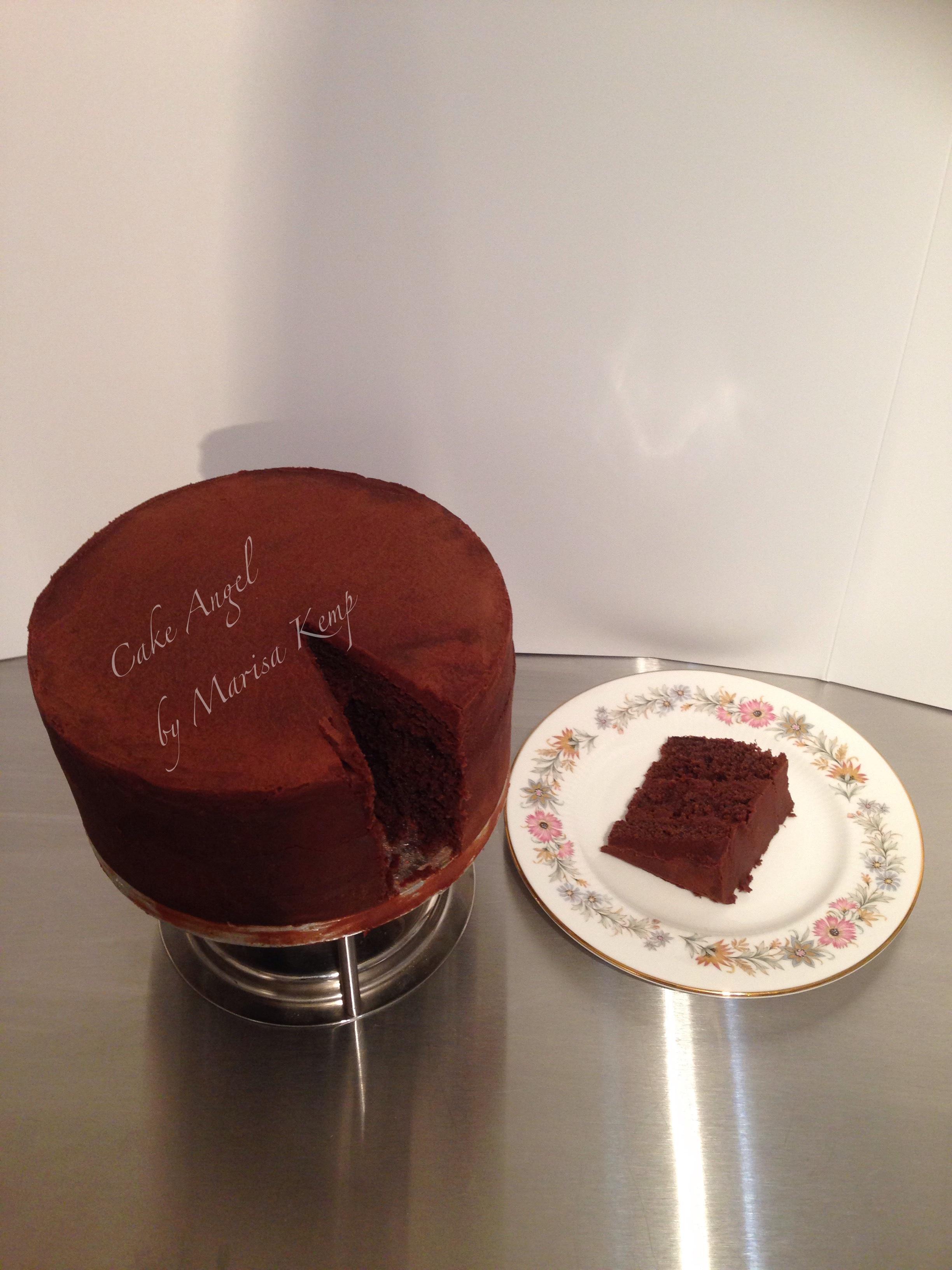 Chocolate Genoese Sponge