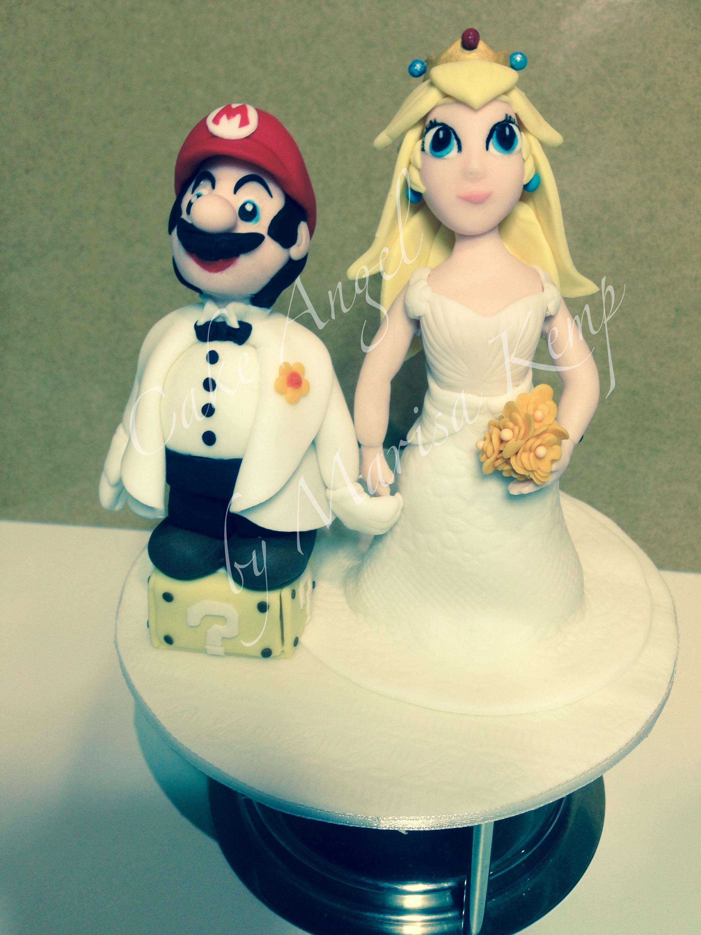Super Mario and Princess Peach Topper