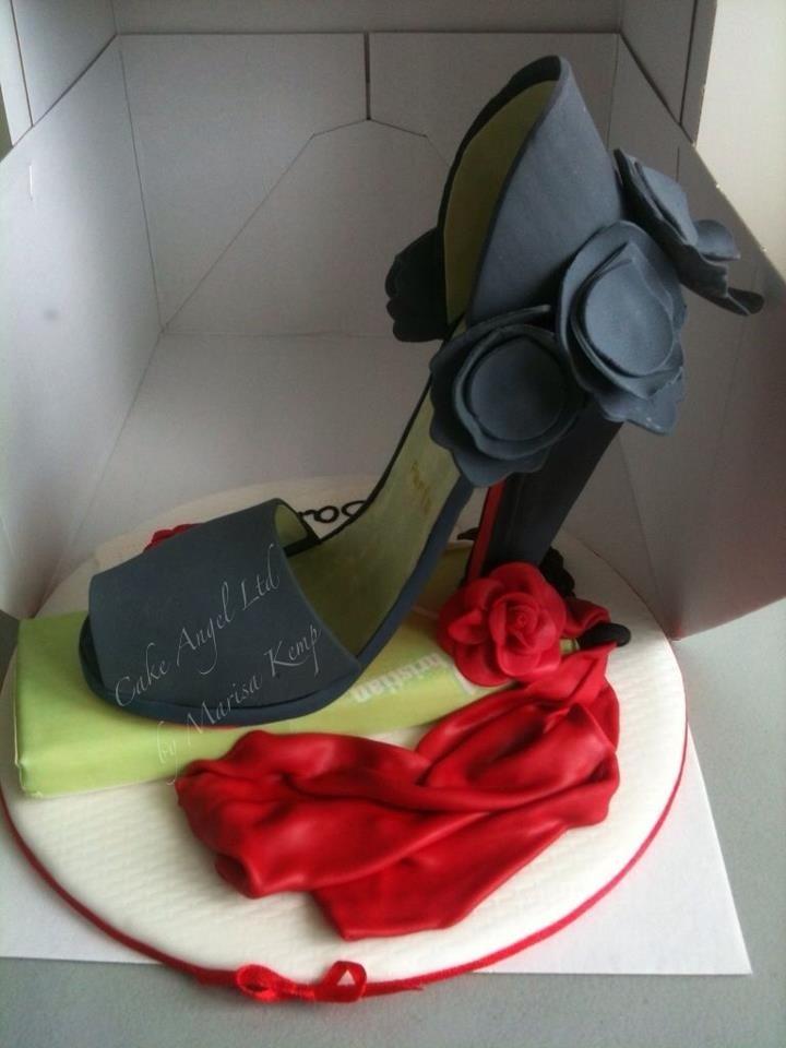 Christian Louboutin Pastillage Shoe Topper