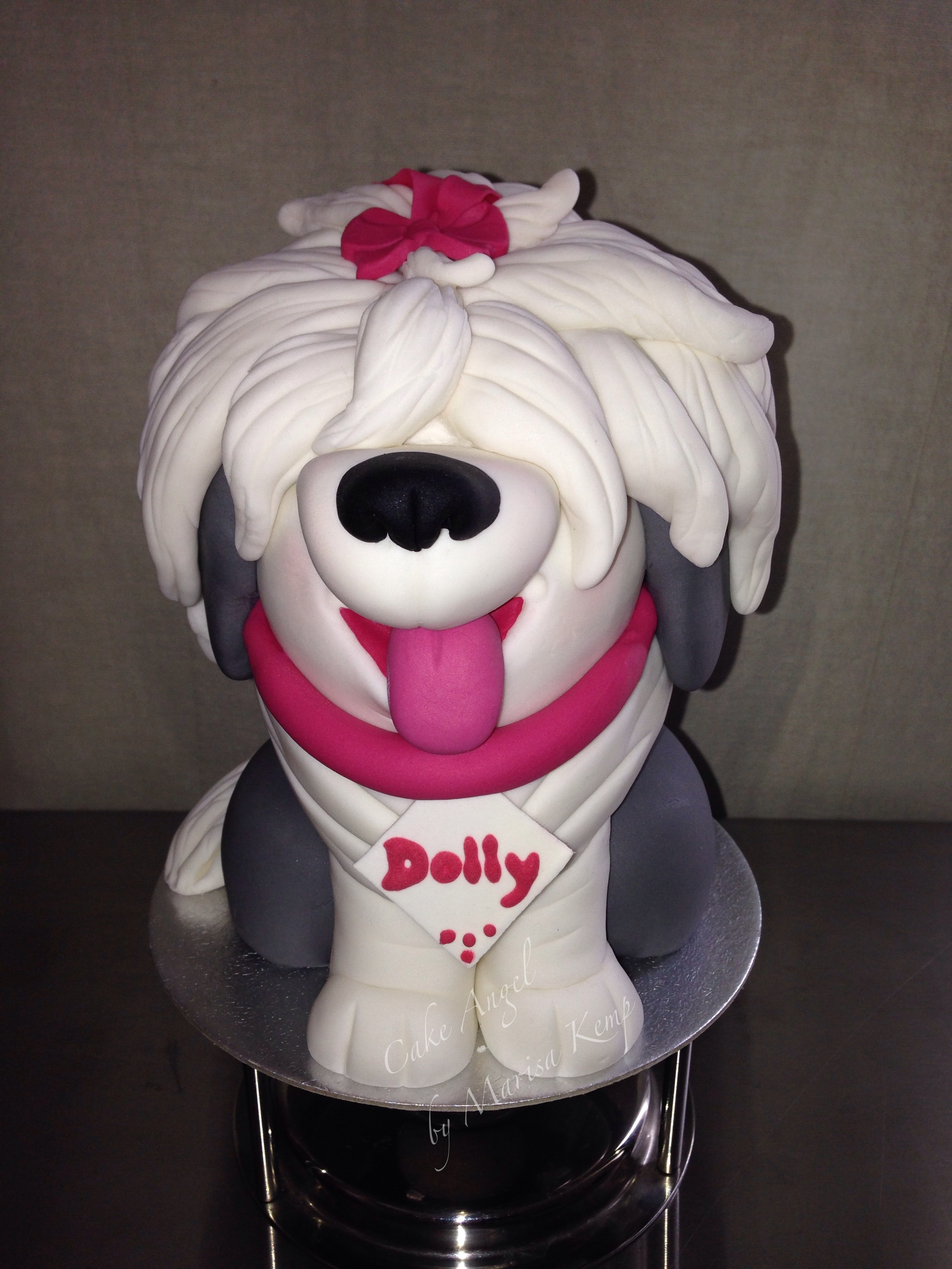 Dolly, sculpted cake inspired by Carlos Lischetti's