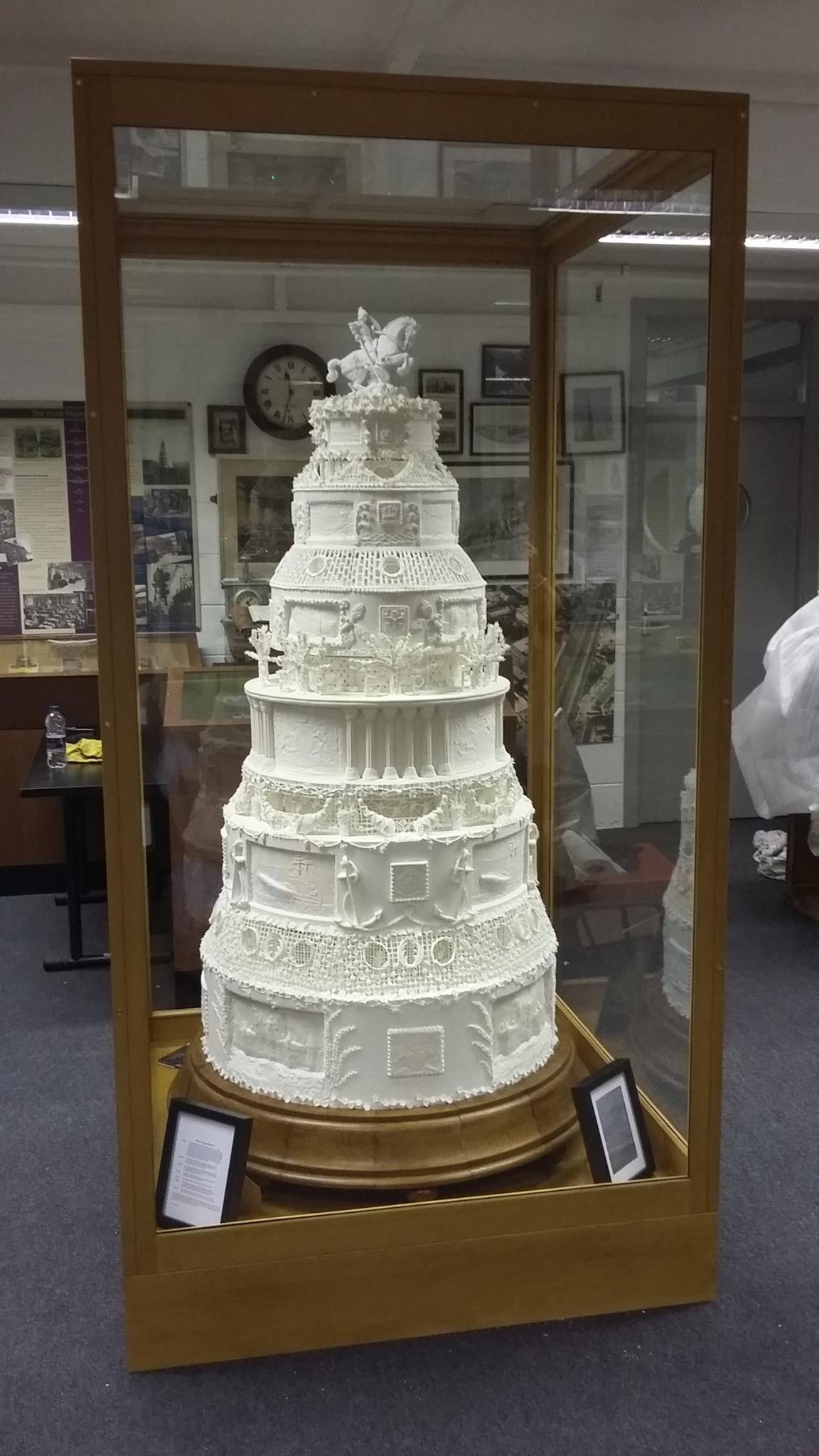 The Queen's Wedding Cake