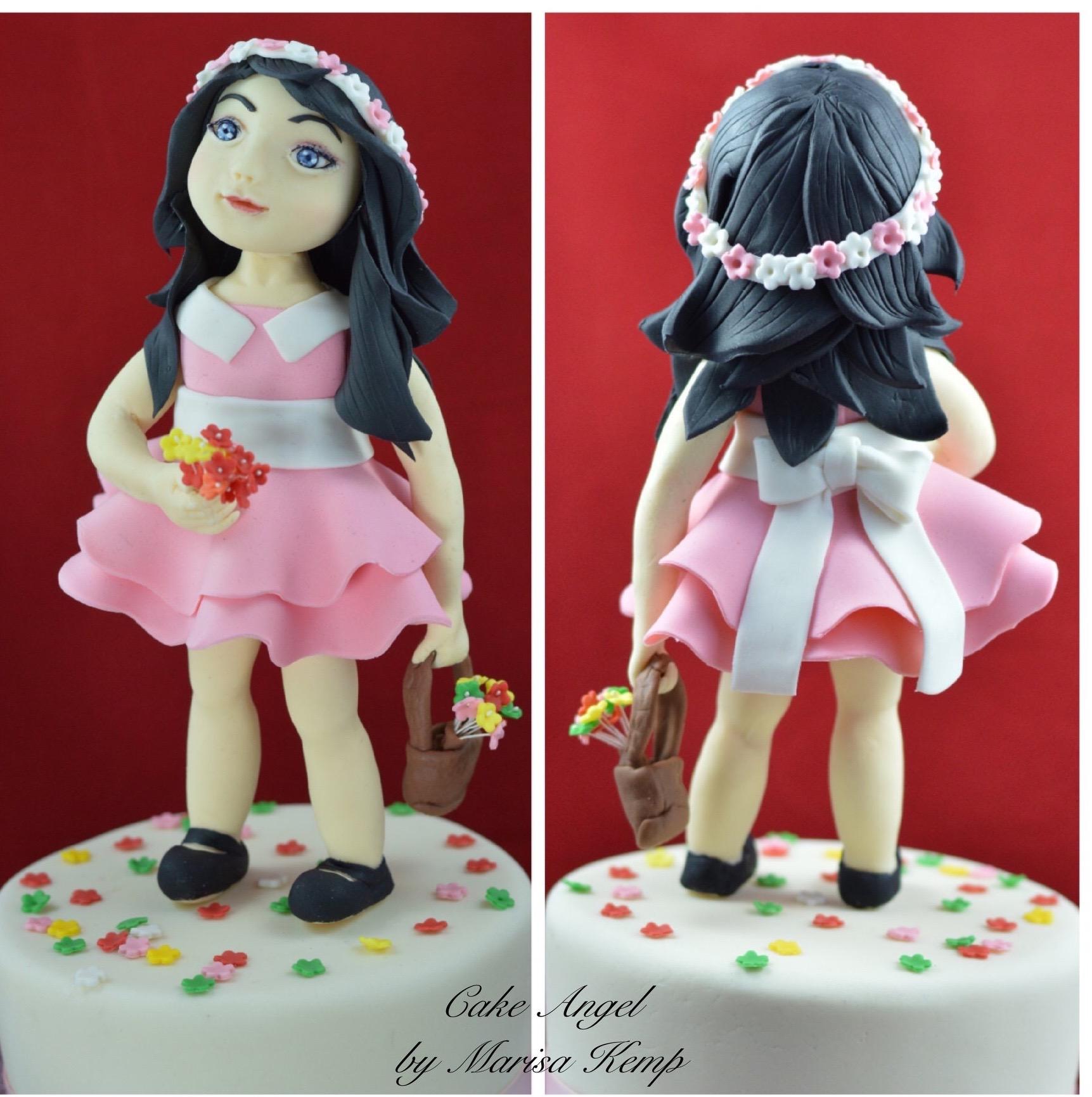 "7"" Blossom Girl figure"