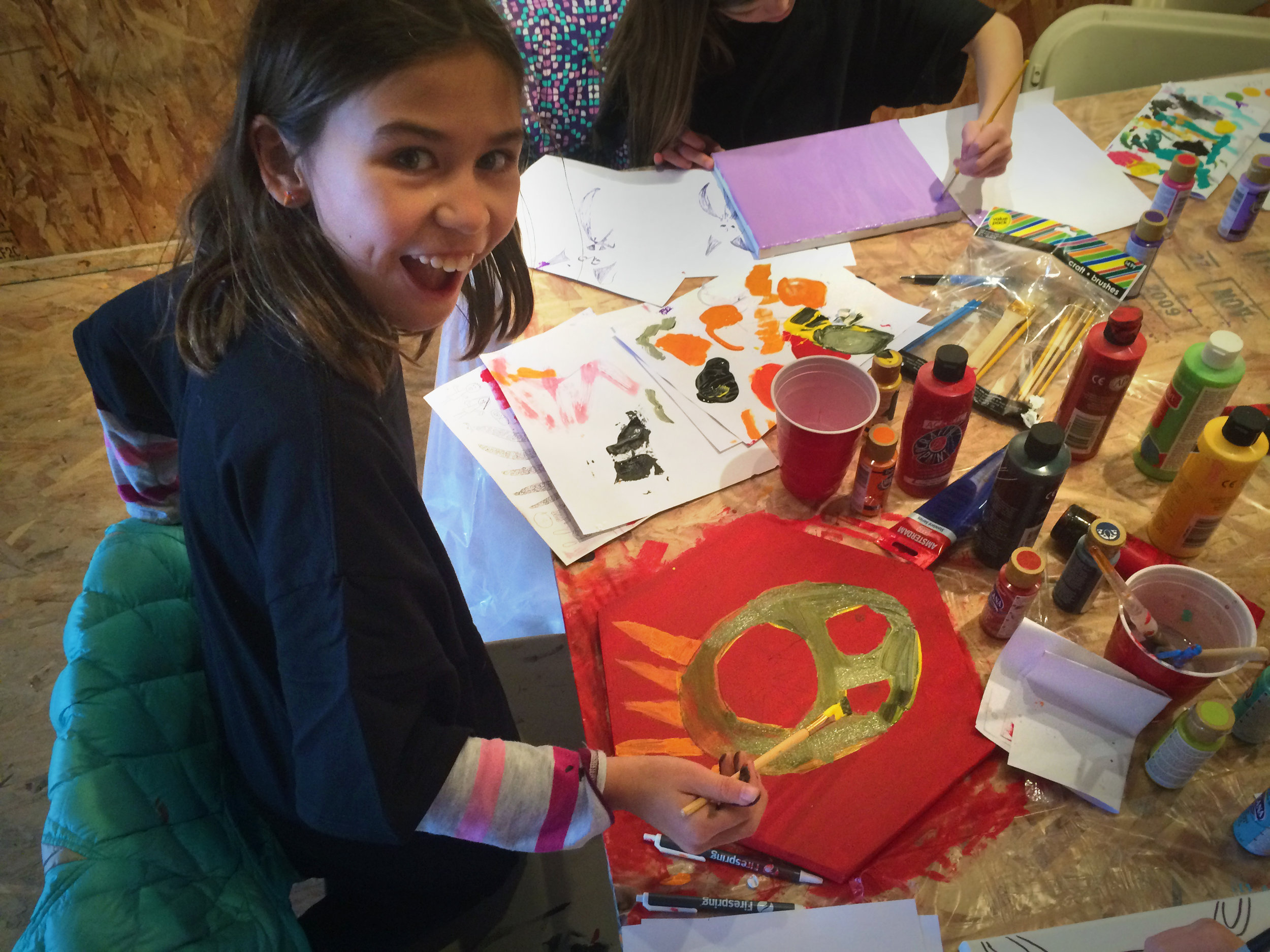 Girl Scouts Artventure Program