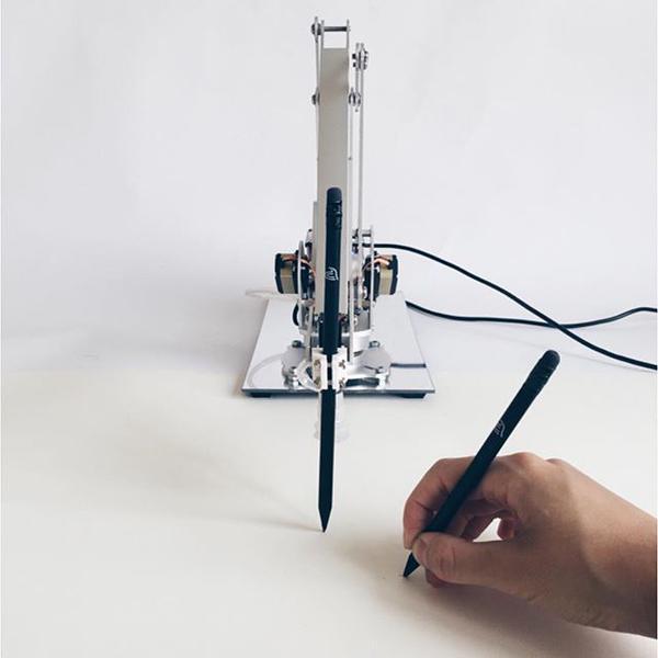 Drawing Operations by Sougwen. Photo via Sougwen.