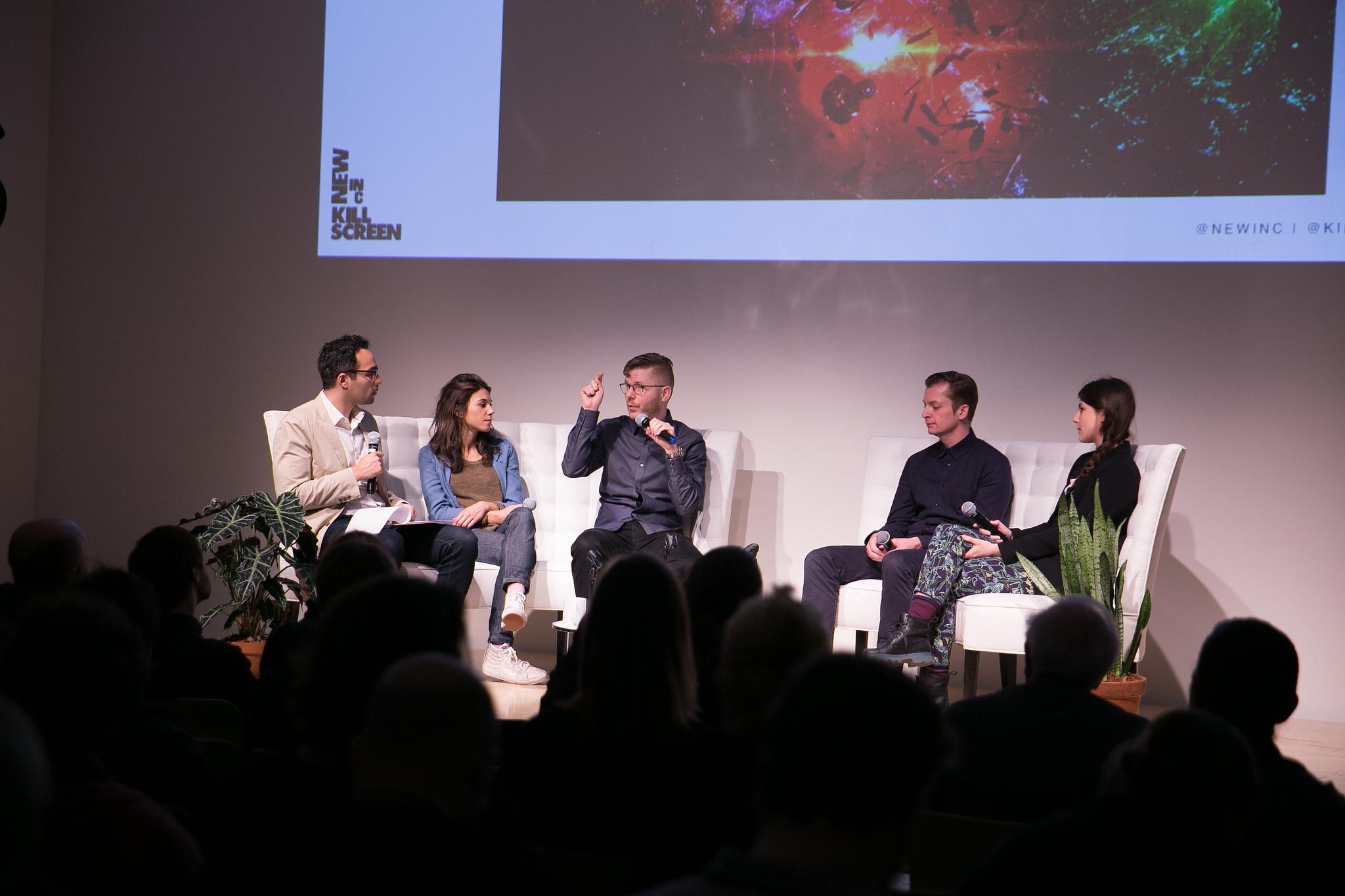 VR: THE LAST MEDIUM?    With Jessica Brillhart, Torfi Frans Olafsson, Neil McFarland, and Rachel Rossin
