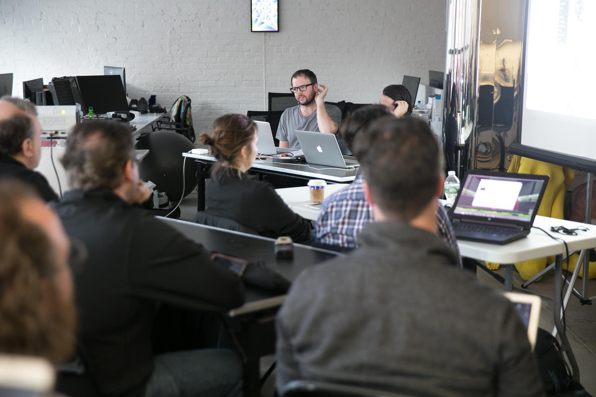Sensorium Works: Live Action VR Workshop with Matthew Niederhauser and John Fitzgerald