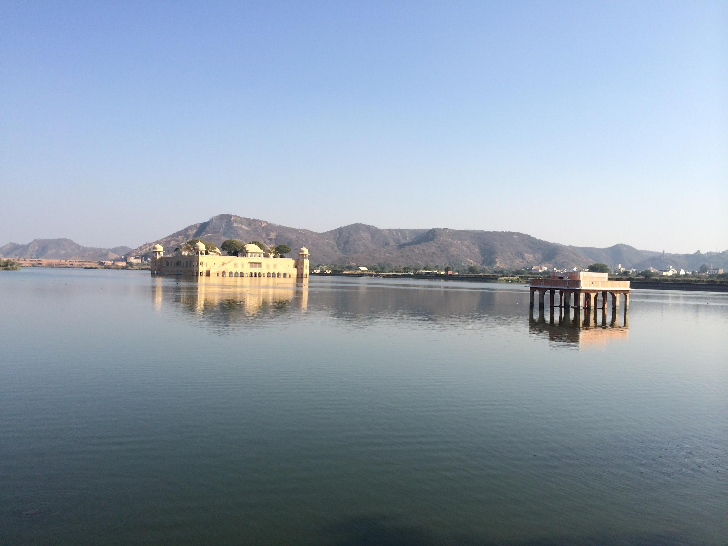 Jal Mahal, the palace on the lake, Jaipur