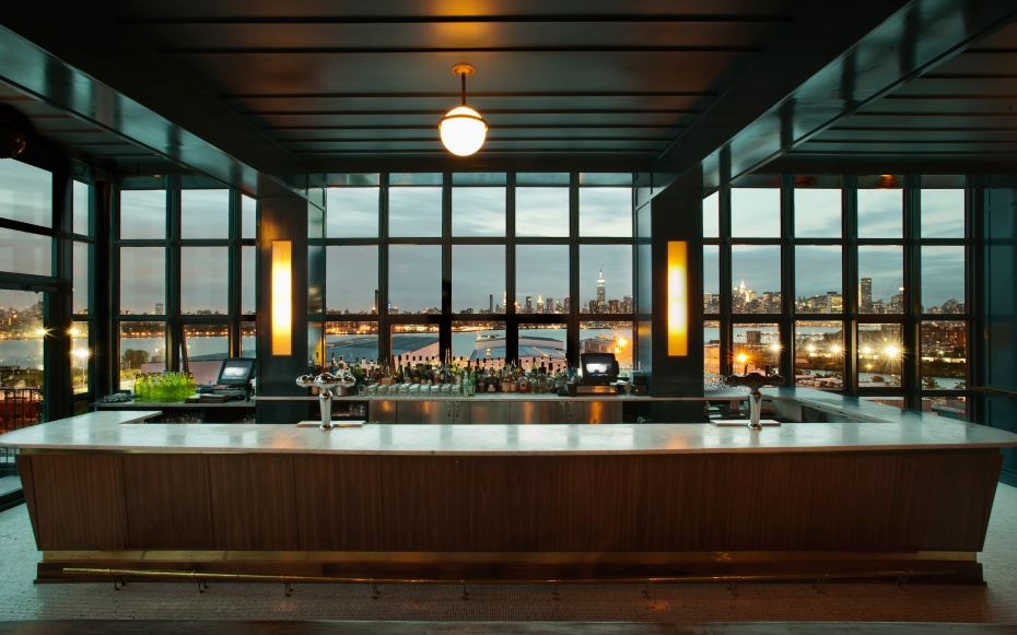 The Ides Rooftop at Wythe Hotel; Williamsburg Brooklyn