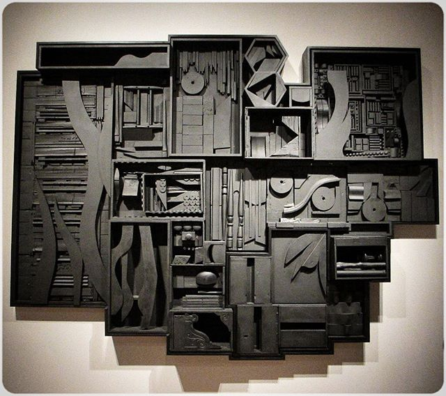 Monday inspiration from Louise Nevelson. Always a good idea. #art #sculpture #inspirationmonday #design #inspiration #timeless #classic