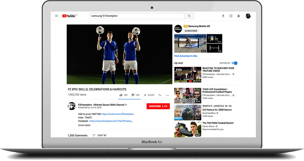 - Samsung came to us wanting a social campaign that leveraged the buzz around Euro 2016 to highlight their latest TV. But they had no rights, money or time.