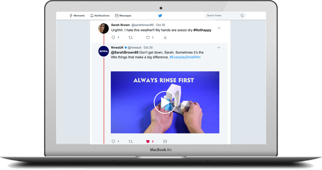 - I designed each video to be reusable and flexible. They could be used to comment on current events, respond to followers, as paid adverts or as stand-alone posts. They could be cut up into GIFs, as short edits and in all social channels.
