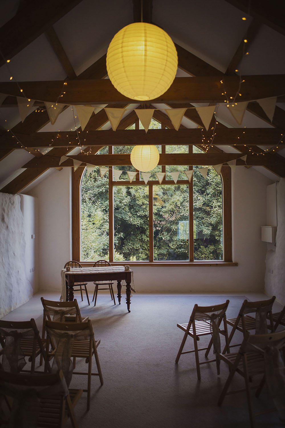 nantwen wedding venue ceremony room