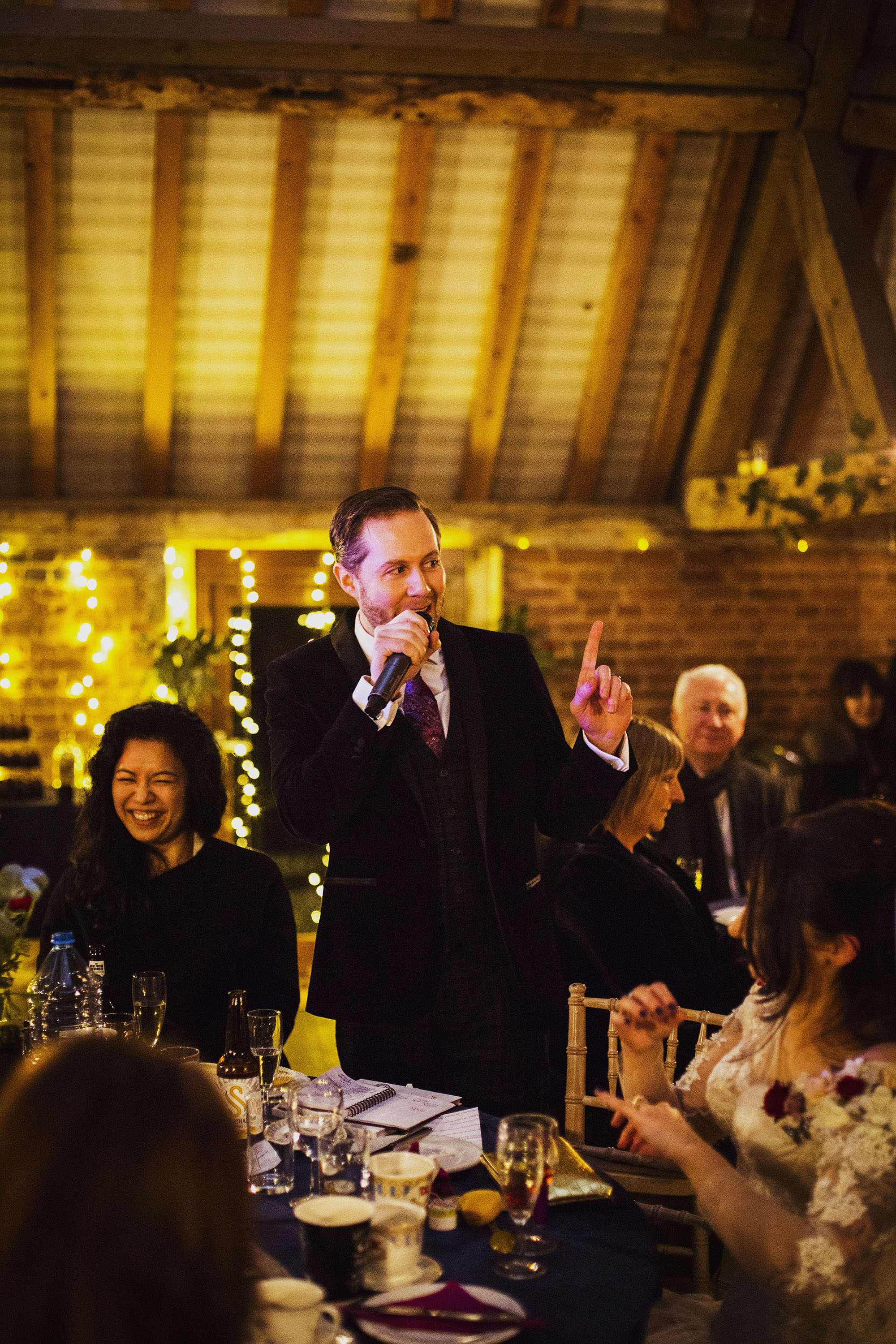groom's speech at barford park in wiltshire