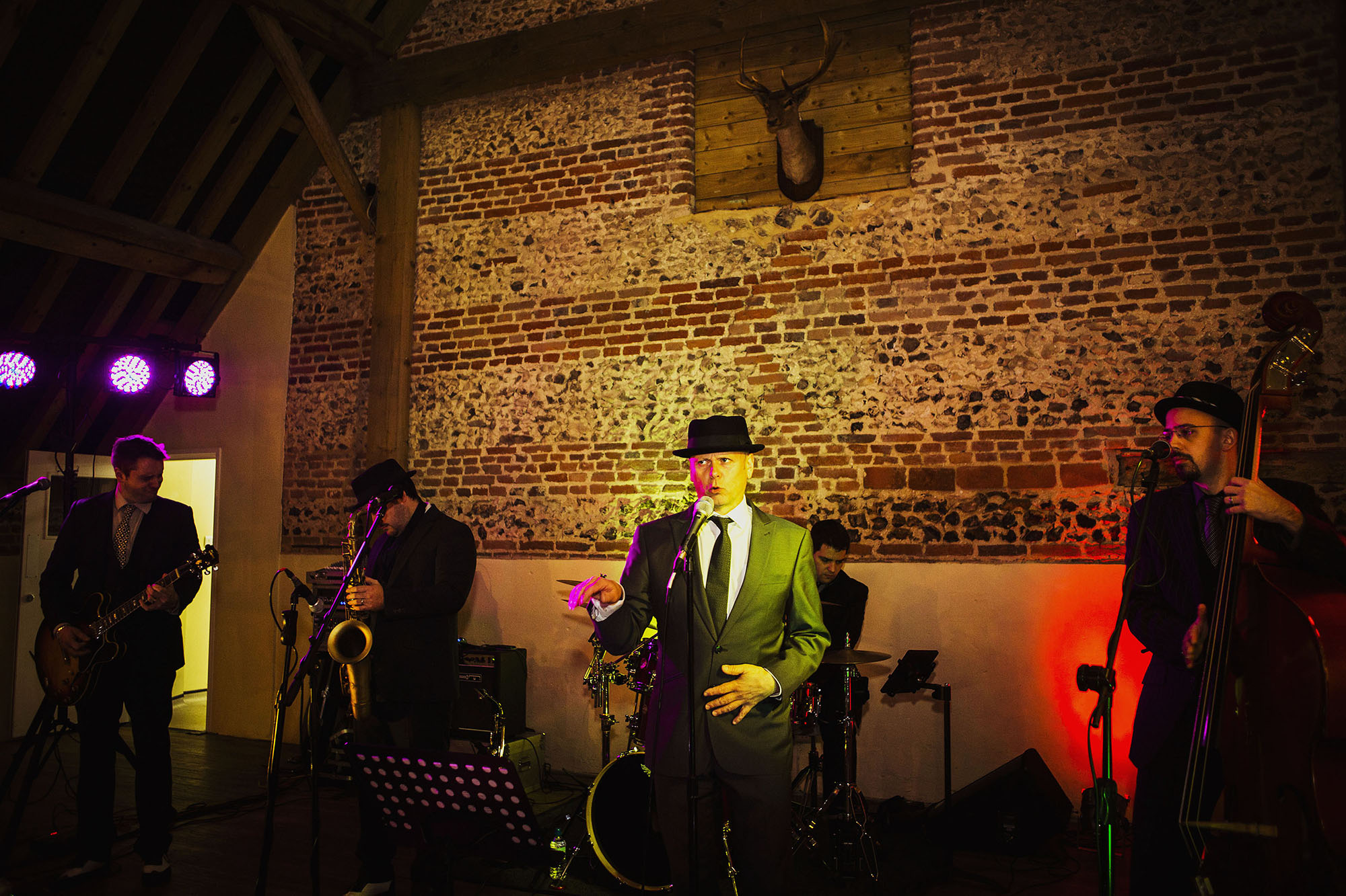 band at barford park wedding venue in wiltshire