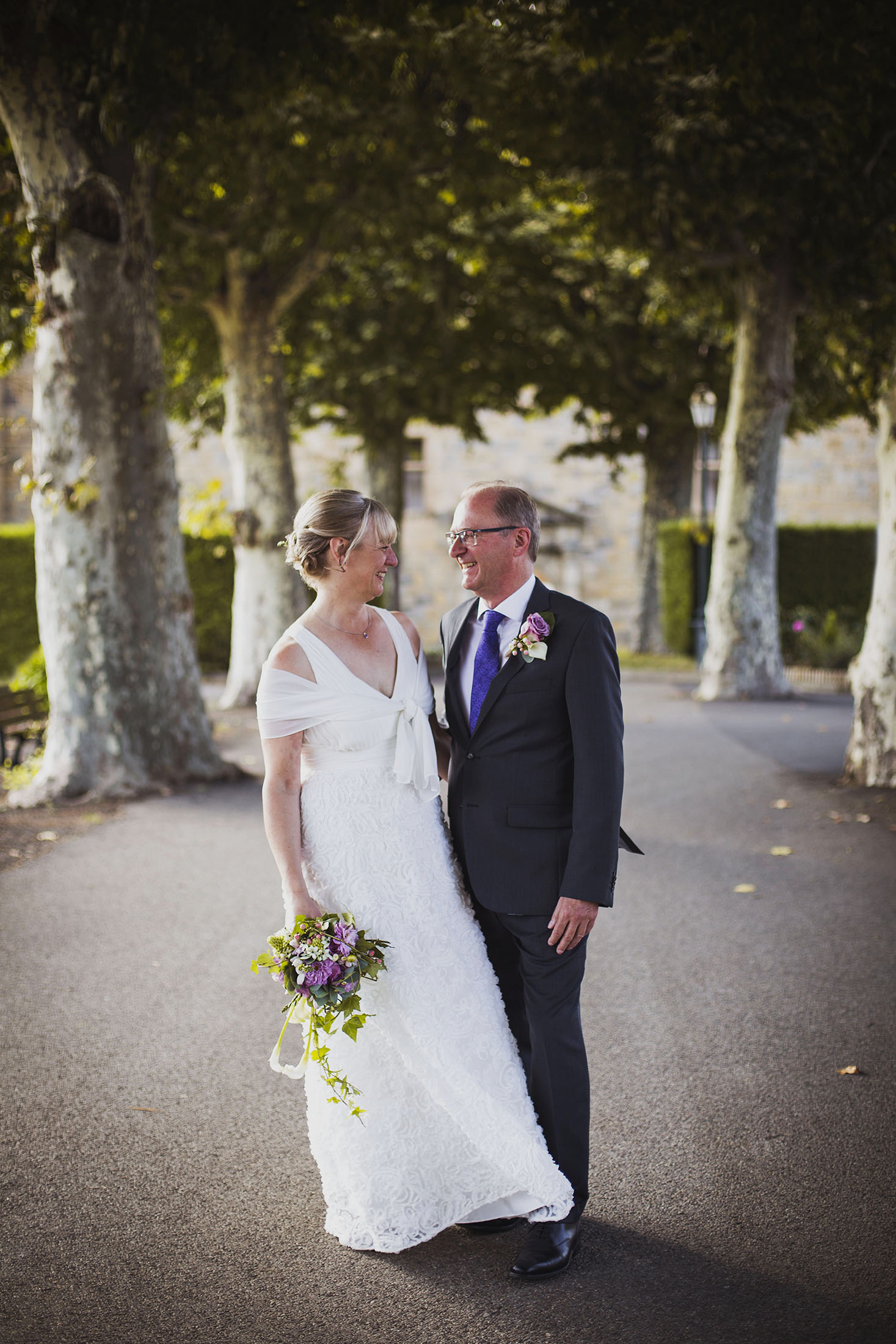 bride and groom portrait france destination wedding