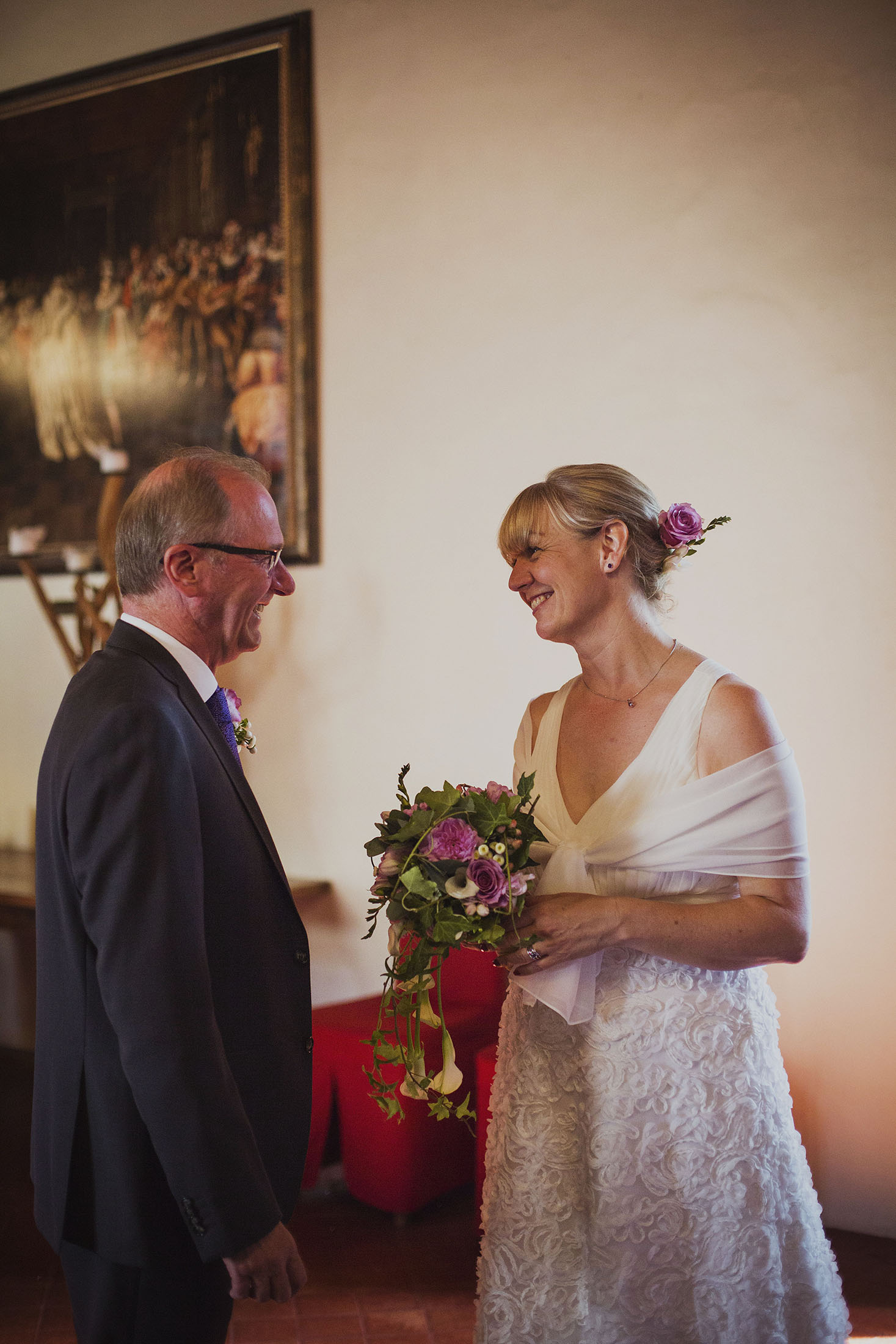 just married at chateaux des ducs de joyeuses france destination wedding photography
