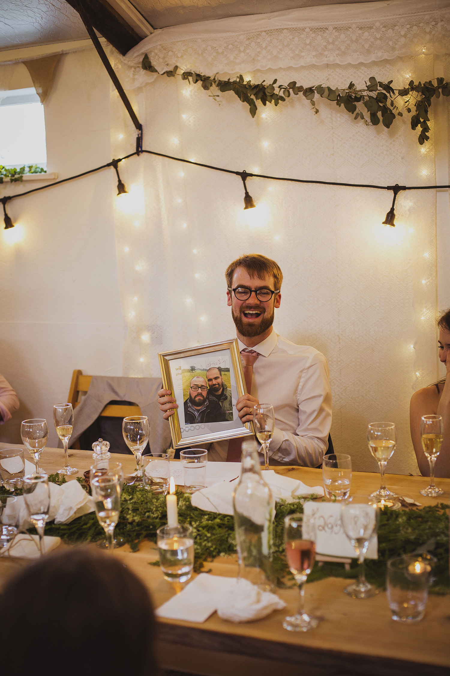 speeches at cott farm barn wedding venue somerset