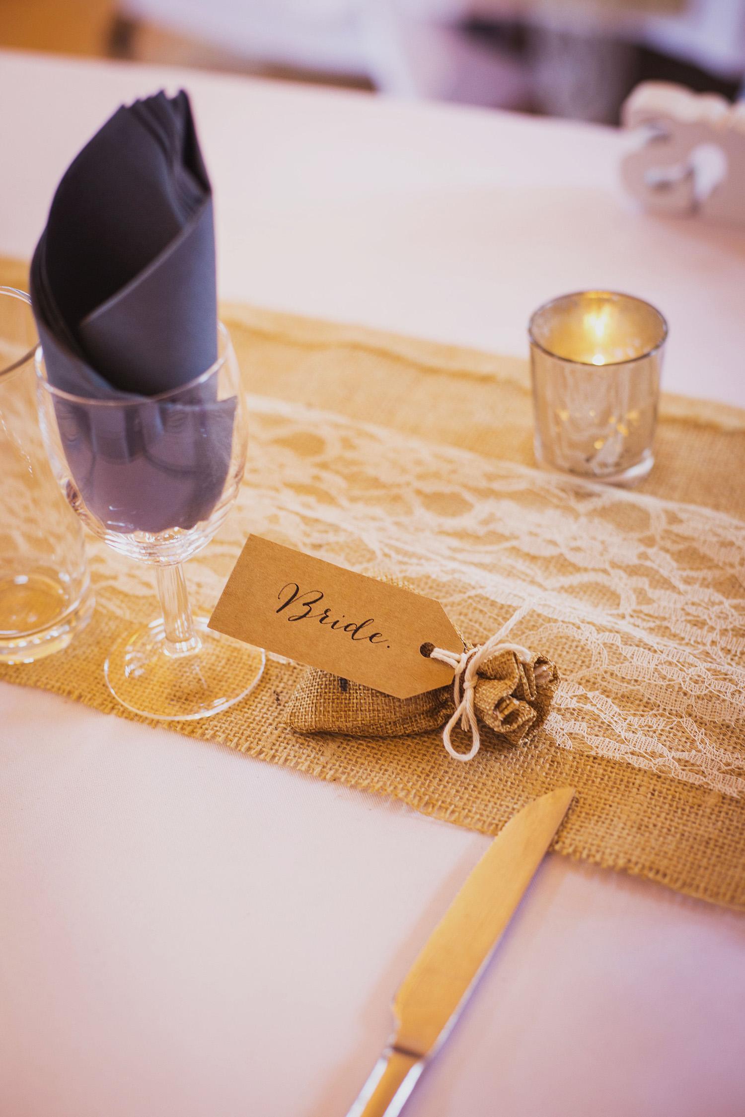 wedding breakfast at fentham hall diy wedding photography
