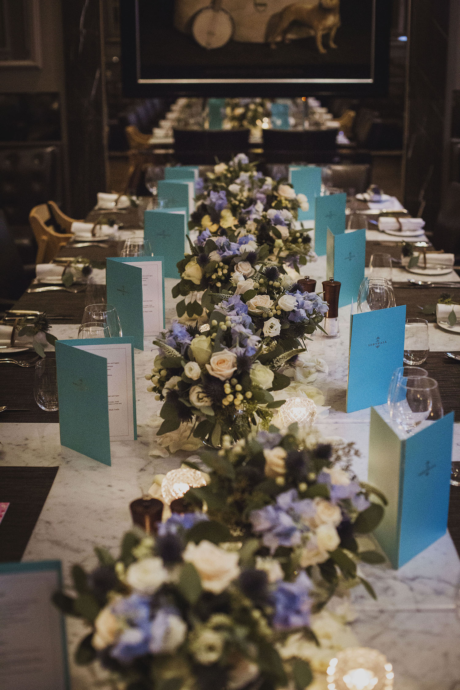 wedding breakfast in northall rooms corinthia hotel london wedding photographer