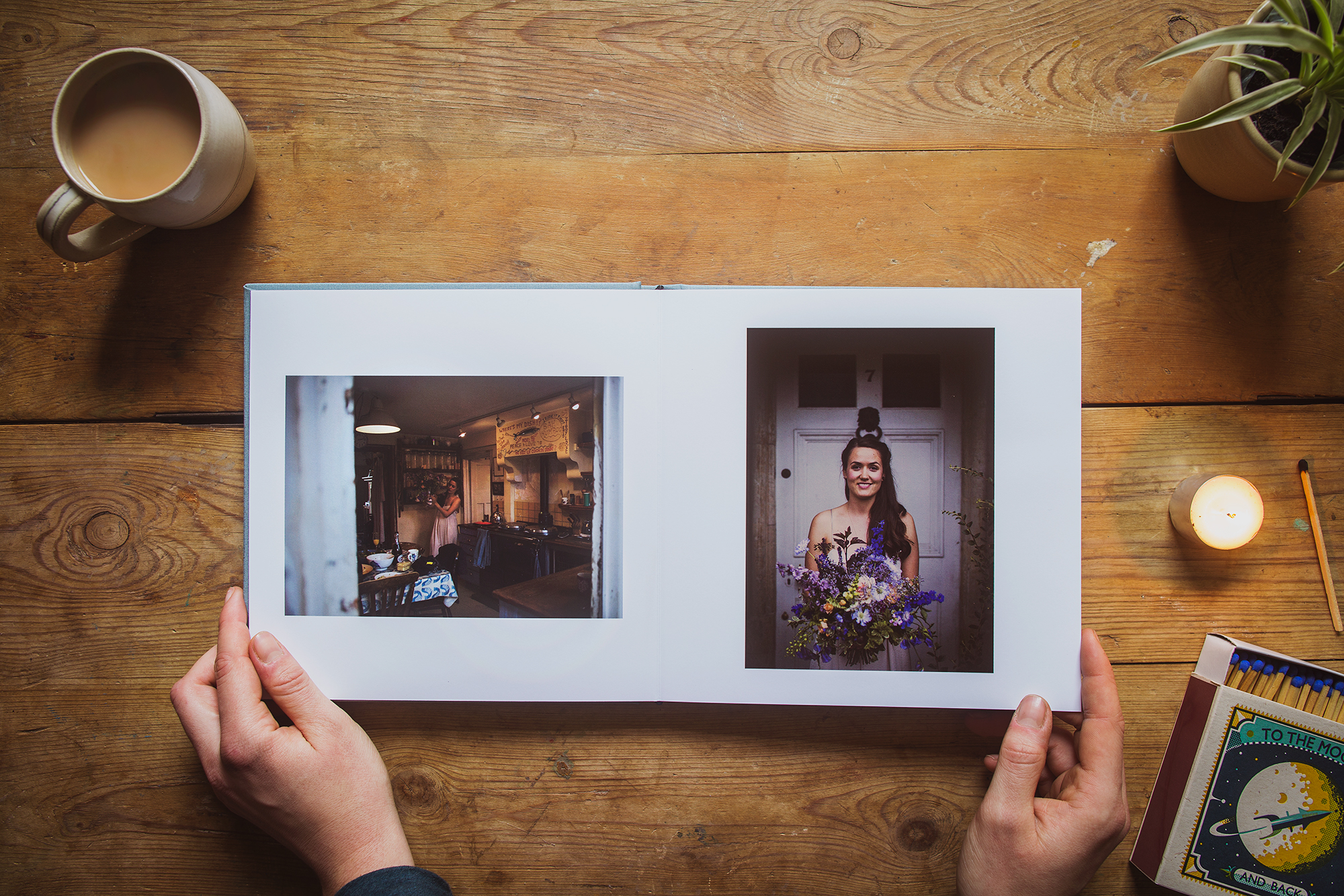 the value of holding a wedding album in your hands heather birnie photography