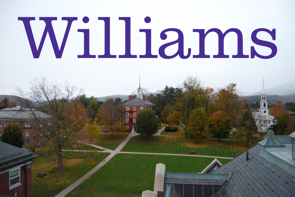 Williams on a fall day. Photo by Ledges  via Flickr .
