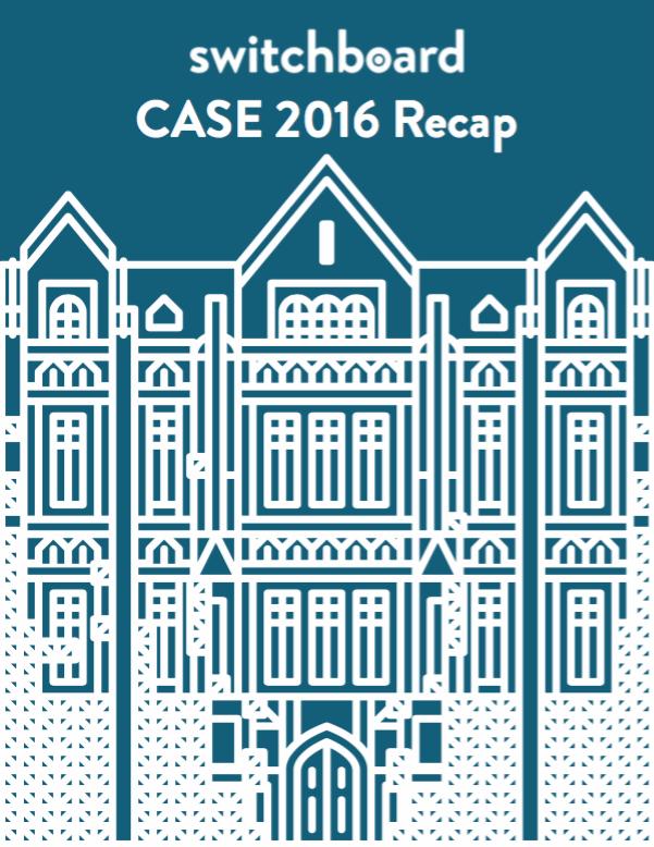 CASE 2016 Recap whitepaper