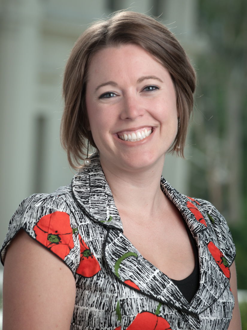 Courtney Stricklin, Assistant Director for Employer Relations at Occidental.