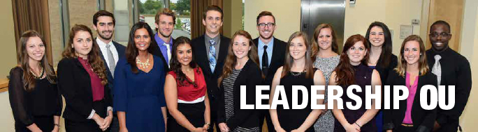 Particpants in the Leadership OU program.