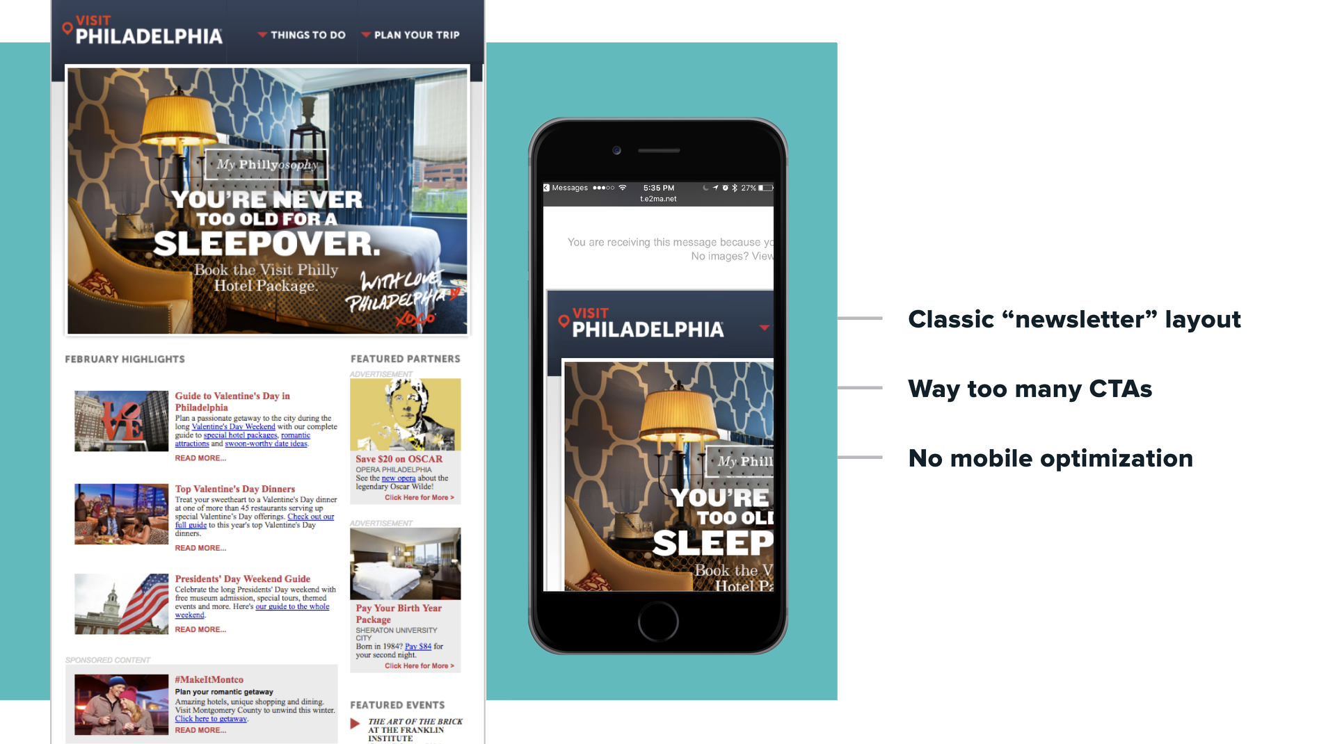 Read Emma's   Top Design Tips: Mobile Email  for more advice on mobile optimization.