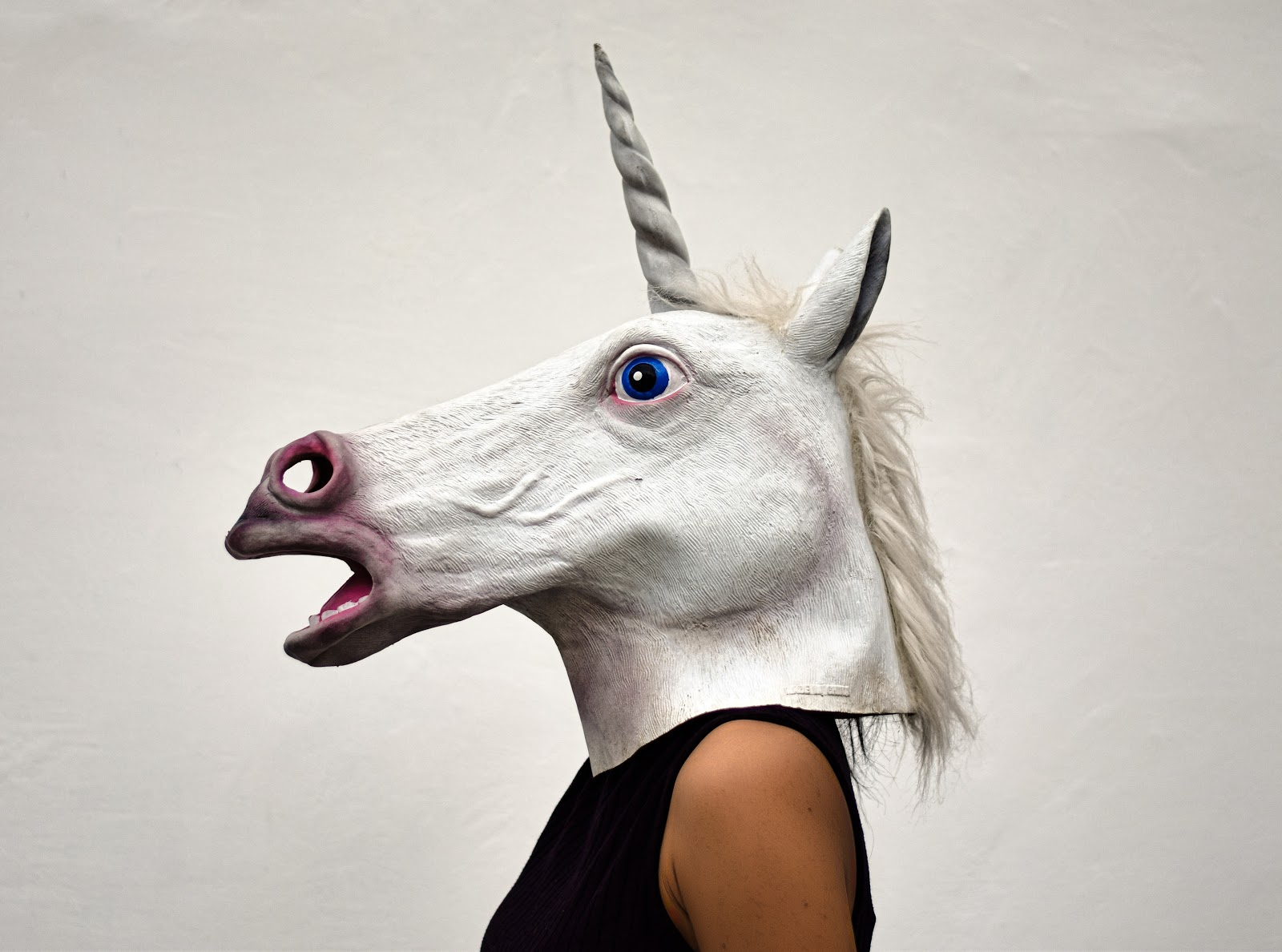 But maybe don't be a creepy unicorn like this.