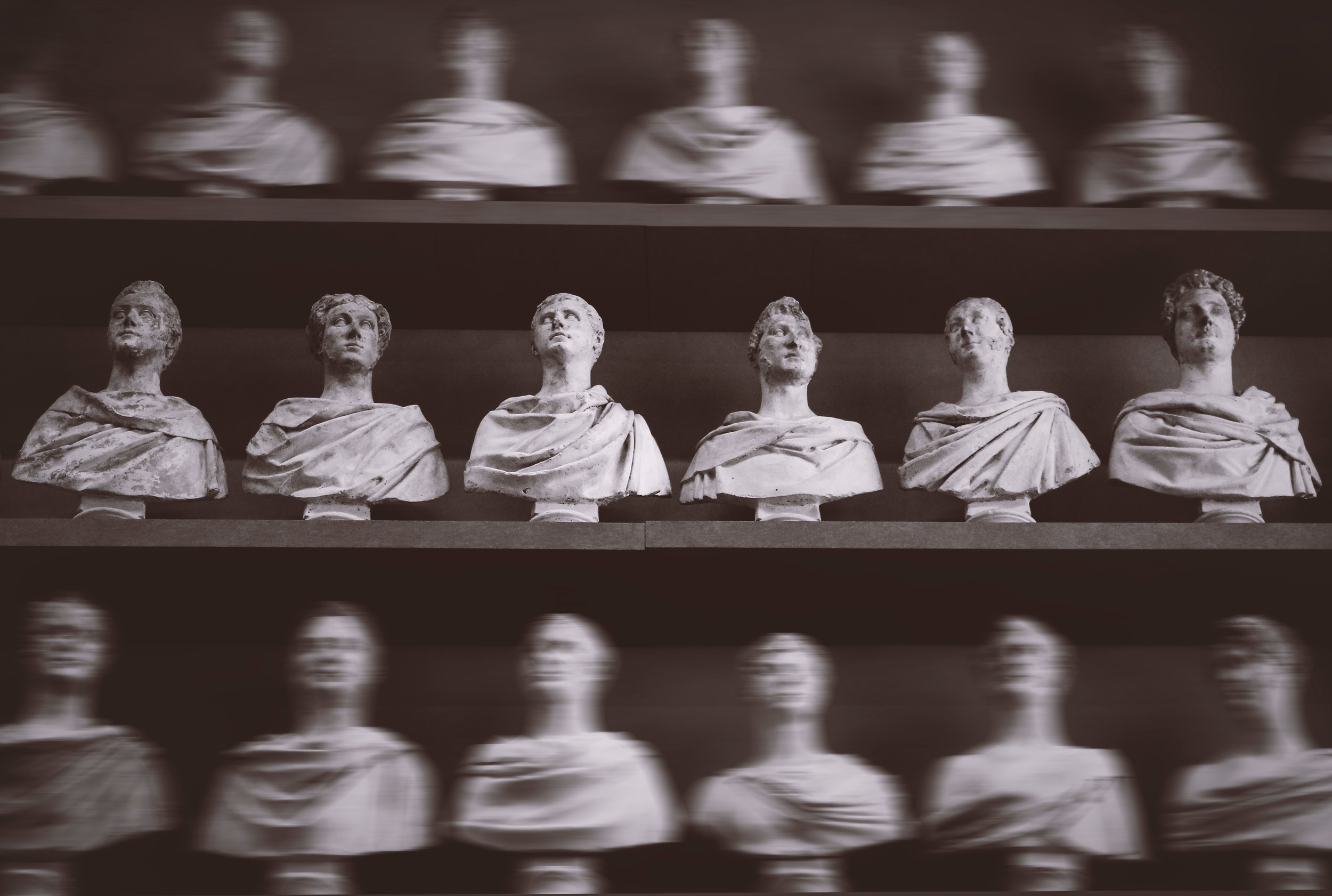 greek busts