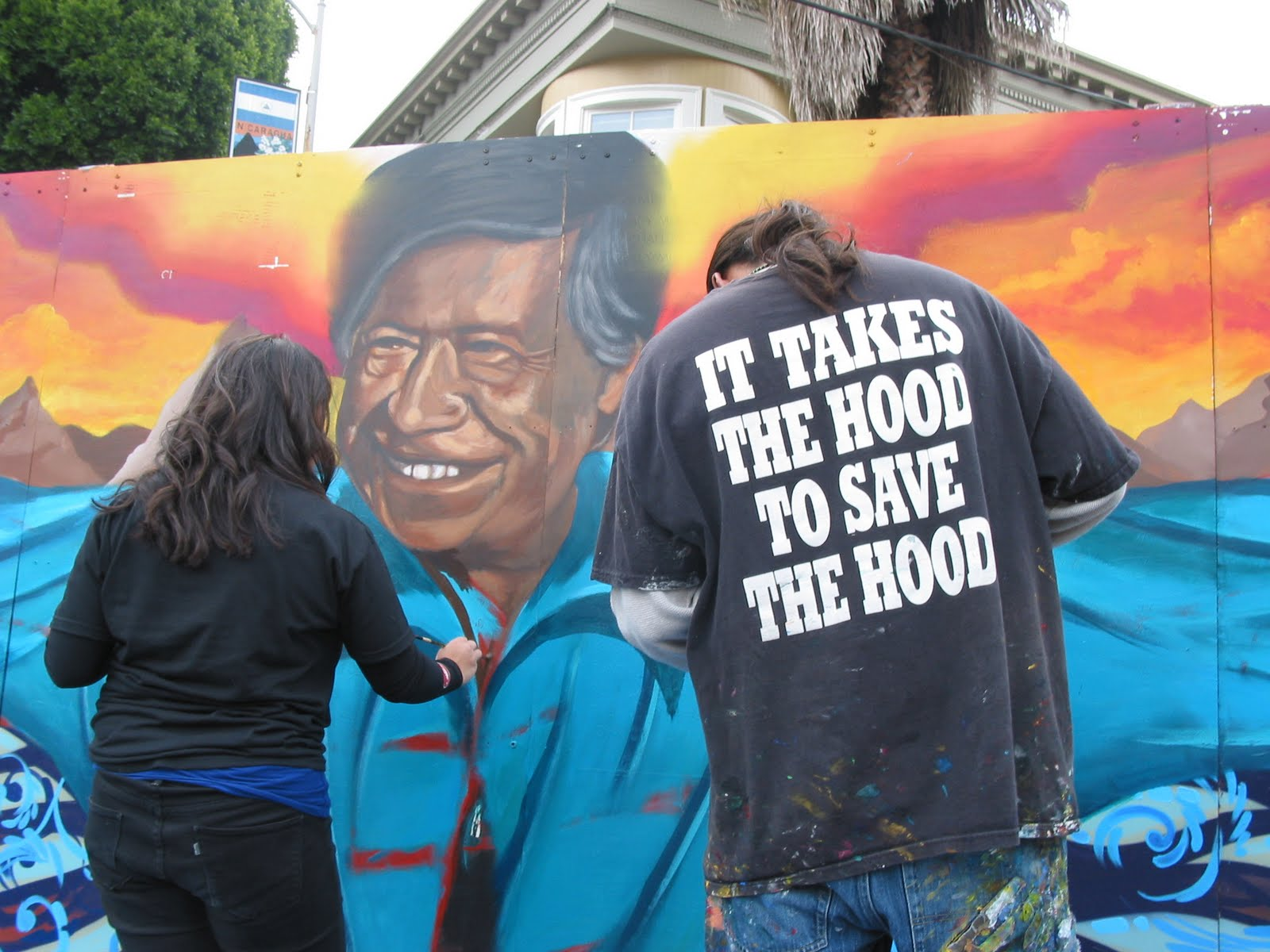 """""""Nothing about us without us,"""" or, put more eloquently, """"It takes the hood to save the hood,"""" the motto of the San Francisco nonprofit  United Playaz ."""