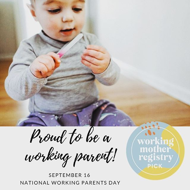 We are so proud to be part of the working mother registry!  Happy working parents day!  To help professional moms win at the juggle, we're so excited to announce that @KIDBOX, @workingmother and @gugu_guru have partnered to launch a Back to Work registry designed entirely to cater to expectant and new working moms. From best-in-class gear and services that make a working parent's life easier to fashionable attire for nursing moms and so much more, the registry includes a variety of incredible products and brands that aim to help a working mom create more work/life balance, as well as ease her transition of returning to work. #workingmotherregistry #workingmother #workingmoms #backtowork #babybluegiraffe #nationalworkingparentsday